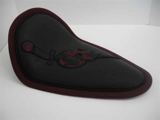 Custom Design with Embossed Leather