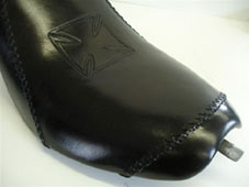 Hand Tooled and Laced Leather