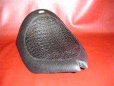 Crocodile and Leather Seat, Pad, and Ferring Protector