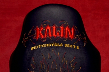 Embroidered Motorcycle Seat